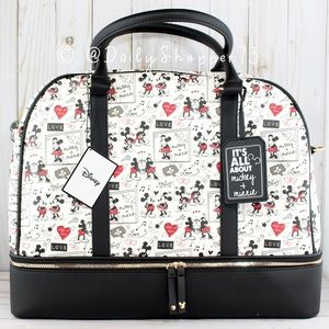 """""""It's all about Mickey + Minnie"""" Weekender Bag"""